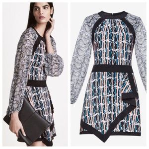 BCBGMaxAzria Tallulah Paisley Printed Dress